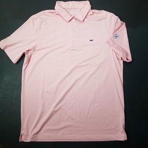 Vineyard Vines Golf Polo Pink XL NCCC
